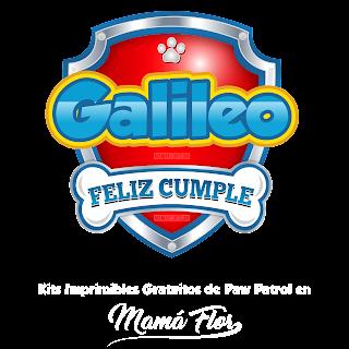 Logo de Paw Patrol: Galileo