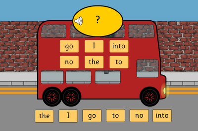 tricky words bus