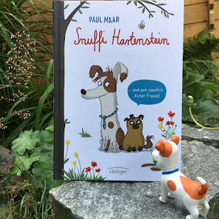 """""""Snuffi Hartenstein und sein ziemlich dicker Freund"""" von Paul Maar, illustriert von Sabine Büchner, erschienen im Oetinger Verlag, ist ein 80seitiges Erstlesebuch"""