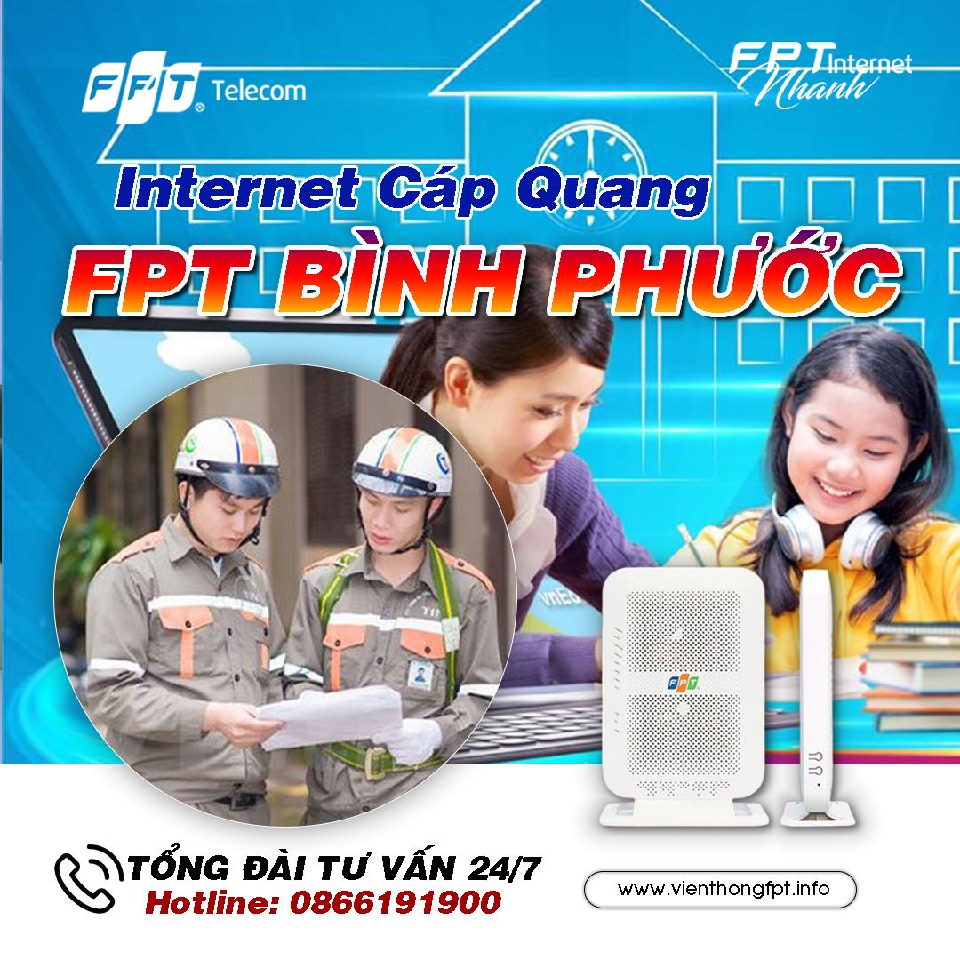 Đăng ký Internet FPT tại Bình Phước miễn phí