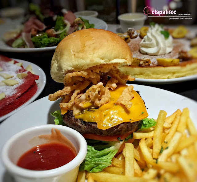 The Signature Sugar Factory Burger from Sugar Factory