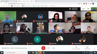 Webinar Pendidikan Online Bersama Bakal Guru Sains Sukan dari UiTM