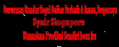 Syair Singapore,30-03-2019