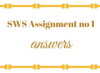 SWS assignment 1 download
