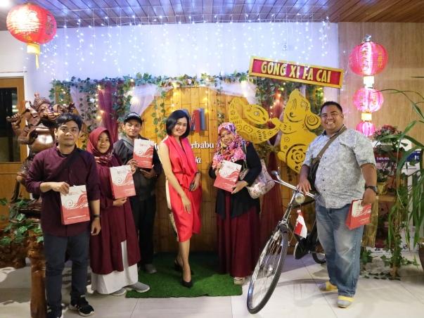Bersama Teman-Teman Blogger di Hotel Merapi Merbabu Yogyakarta