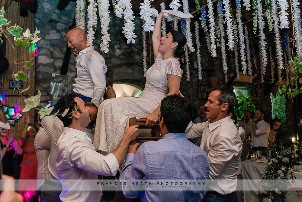Hora Jewish wedding dance