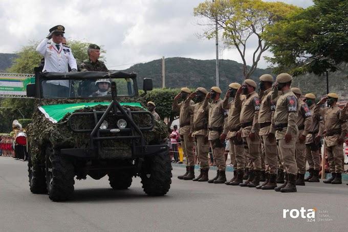 Confira algumas imagens do desfile de 7 de Setembro em Jacobina
