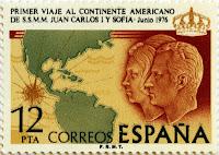 PRIMER VIAJE AL CONTINETE AMERICANO DE SS.MM. LOS REYES DE ESPAÑA