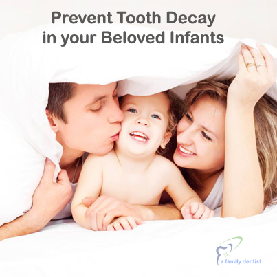 dental decay in infant