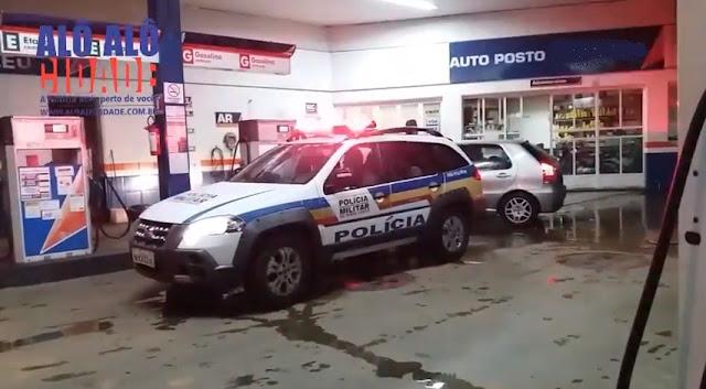 Auto Posto Assaltado em Campanha - Foto: Alô Alô Cidade