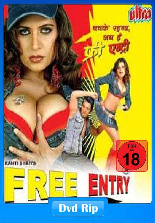 [18+] Free Entry 2006 Hindi B-Grade 480p DVDRip 300MB x264