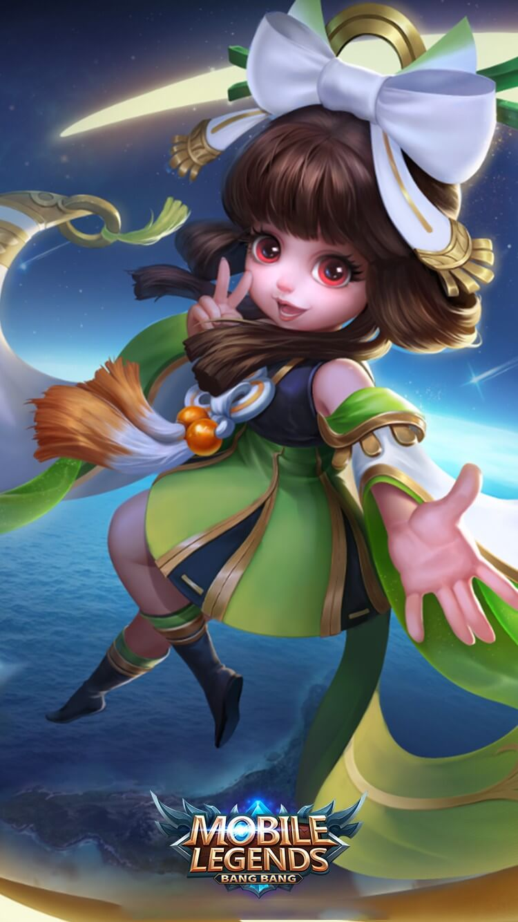 Wallpaper Chang'e Moon Palace Immortal HD for Android and iOS