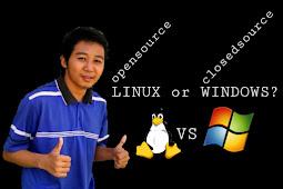 Pilihlah Dari Sekarang ! Perbandingan Linux Dan Windows, Open Source or Closed Source ?