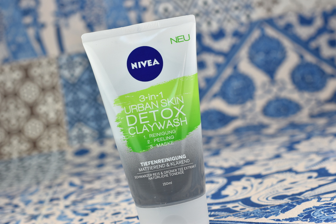Sommer Favoriten 2019 Nivea Detox Claywash Urban Skin