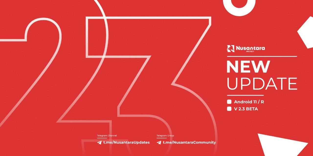 Nusantara Project v2.3 Official Android R Redmi 4X | Santoni