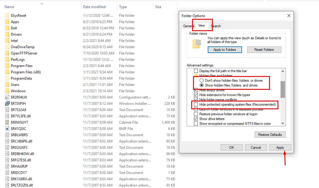 Cara Hapus File Sampah / Temp Tersembunyi dari Semua Drive di Windows 10 / 8.1 / 7