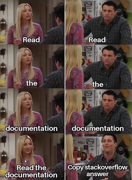 read the documentation