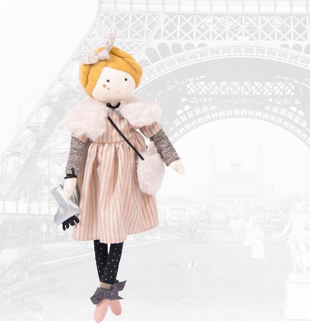 Moulin Roty doll Mademoiselle Eglantine