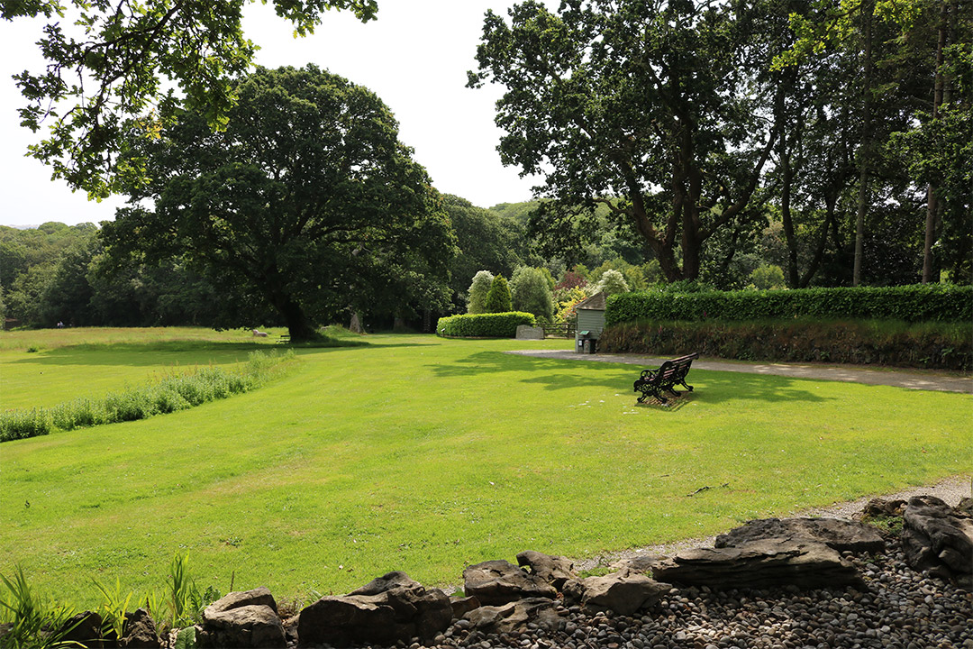 The gardens at Pinetum are very varied, with Japanese influence as well as Cornish and English landscaping