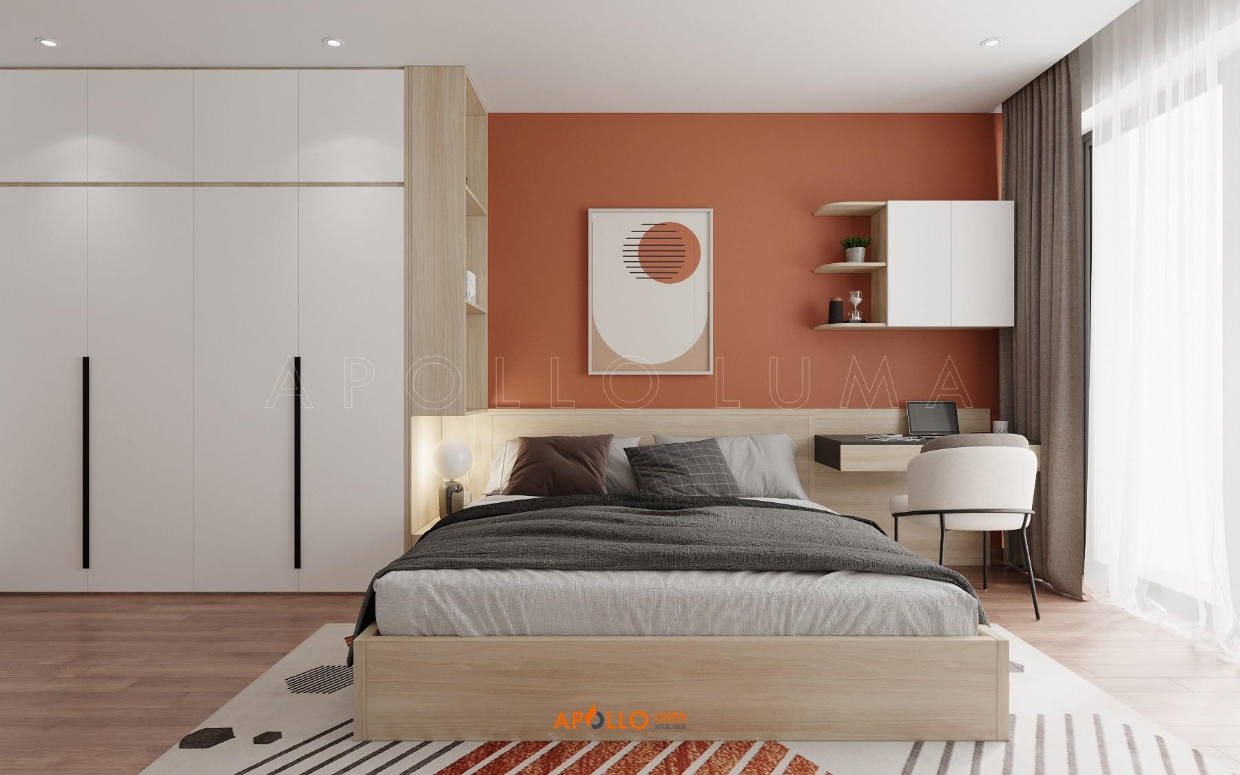 Thiết kế nội thất căn 3 phòng ngủ The Emerald Mỹ Đình