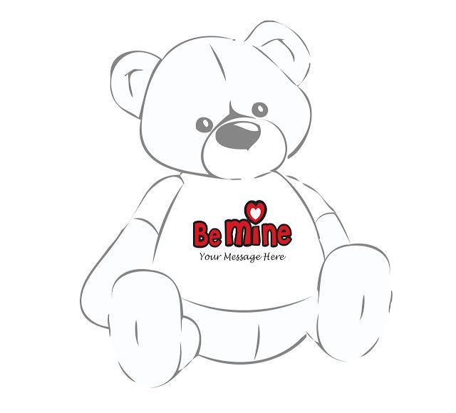 Cuddles red teddy bear