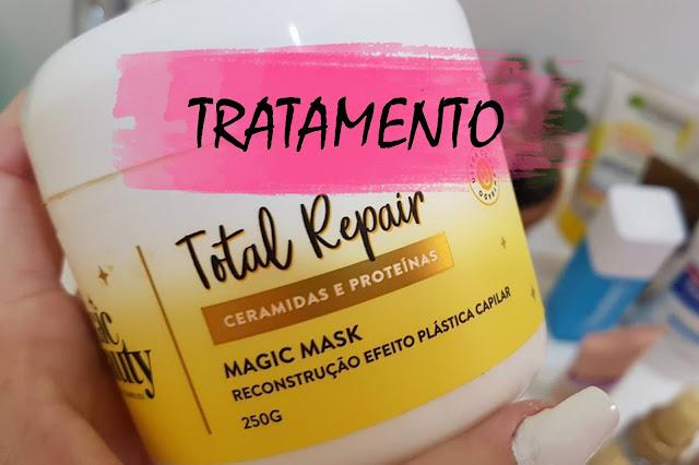 embalagem Magic Beauty Mask Total Repair