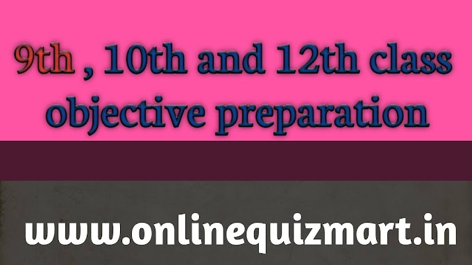9th,10th and 12th class preparation