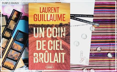 Blog PurpleRain Livre - Un coin de ciel brûlait • Laurent Guillaume