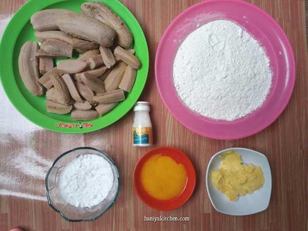 Cara Membuat Pisang Molen Mini Renyah