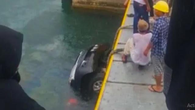 Kronologi Lengkap Viral Mobil Tercebur ke Danau Toba