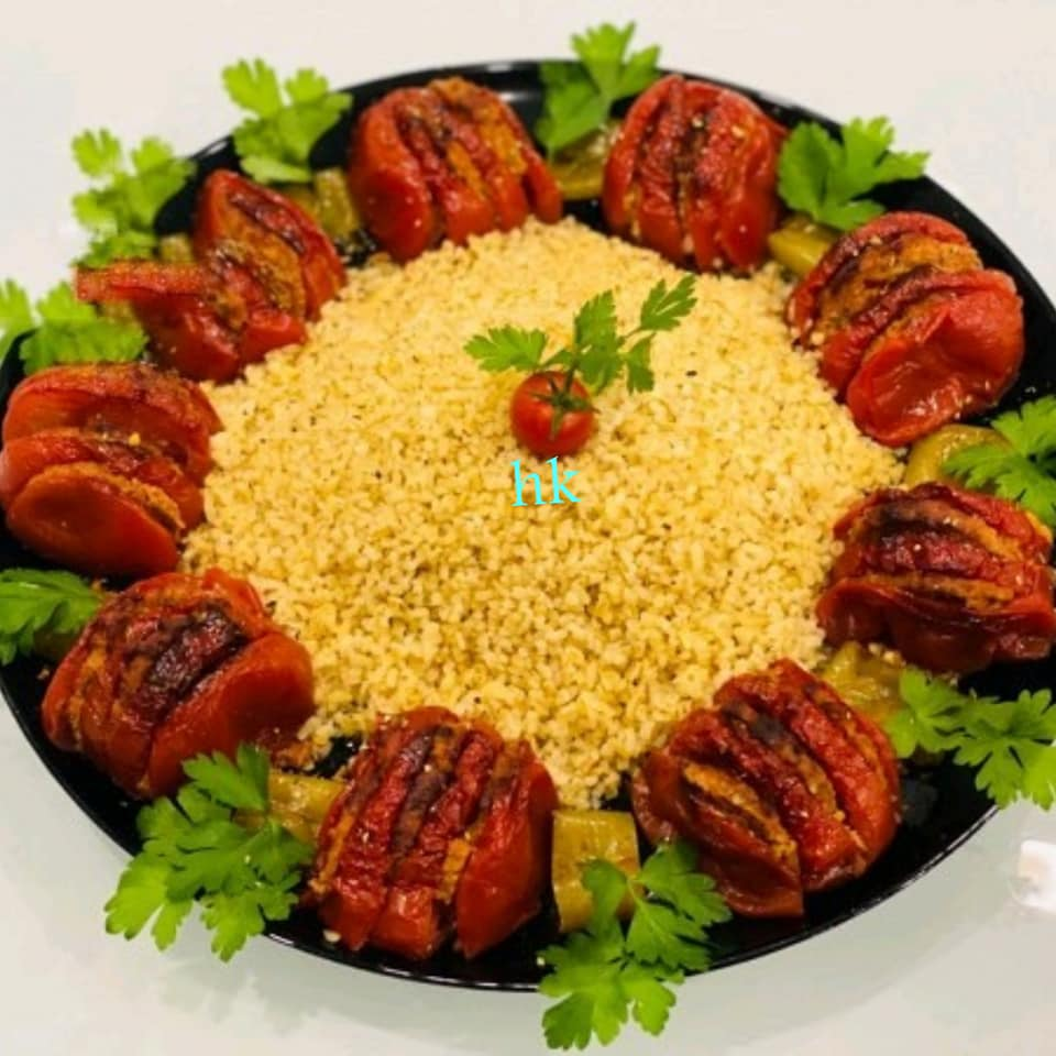 كباب الطماطم مقدم من الشيف/حسن كمال حسين