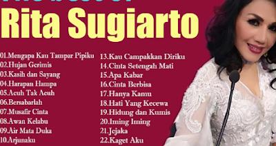 Download Kumpulan Lagu Dangdut Rita Sugiarto Mp3 Full Album