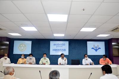 జలమండలిలో ఘనంగా అవిర్భావ వేడుకలు..._harshanews.com