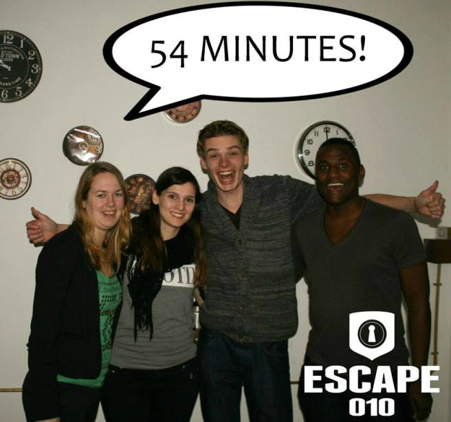 groepsfoto escape 010 2e kamer