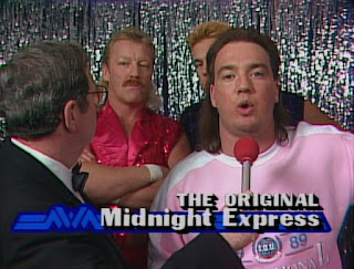 NWA Chi-Town Rumble 1989 - Paul E. Dangerously with The Original Midnight Express