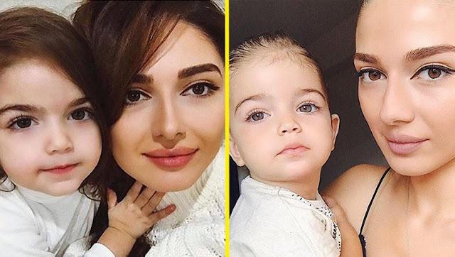 Нереально красивые молодые мамы и их очаровательные малыши