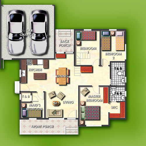 house design floor plans philippines - Philippines House Design Plans