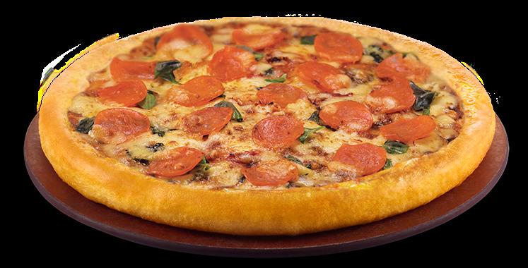 Pepperoni Pizza Pizza Hut Slice