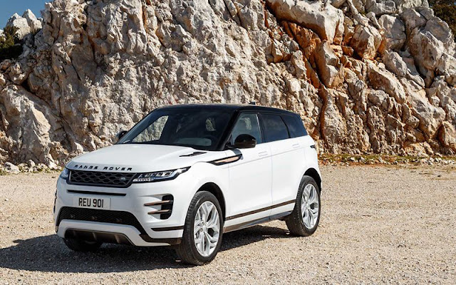 Range Rover Evoque thừa hưởng nhiều nét thiết kế của dòng Velar