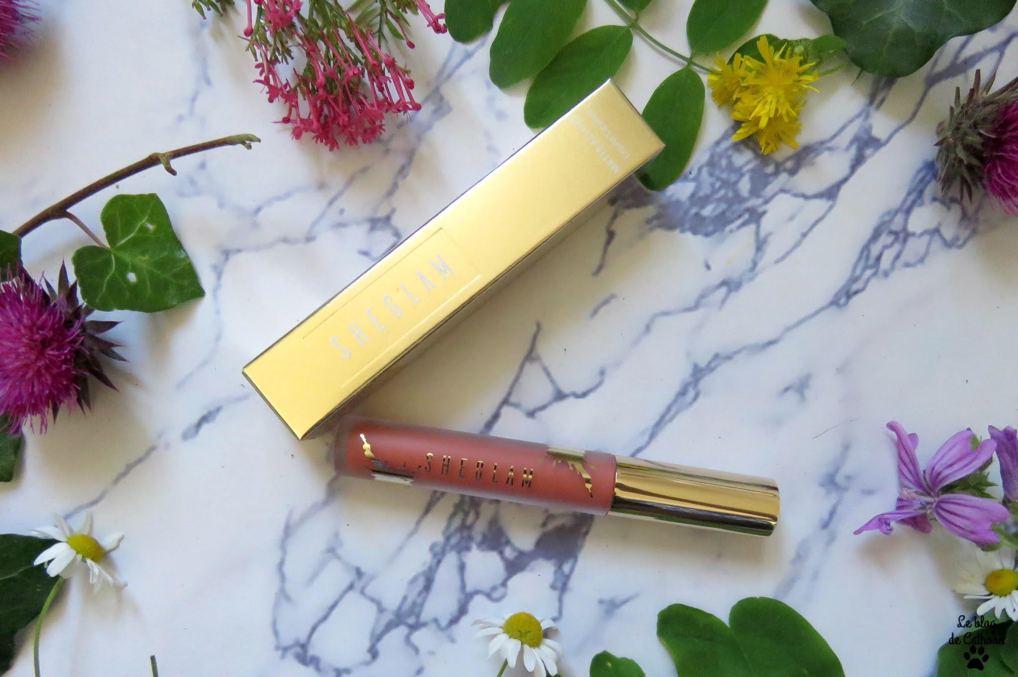Matte Allure Rouge à Lèvres Liquide - Misty Rose - Sheglam