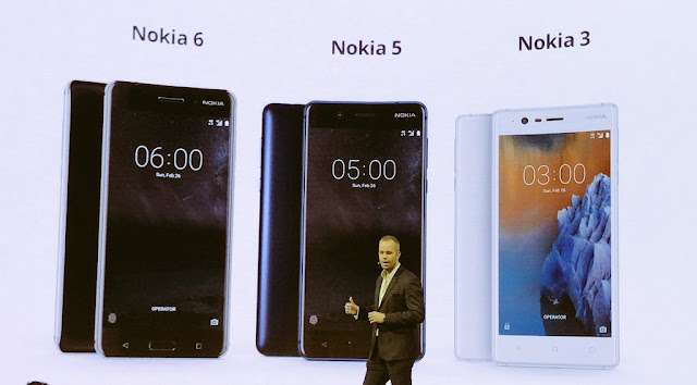 Nokia 5 And Nokia 3 Officially Announced At MWC 2017