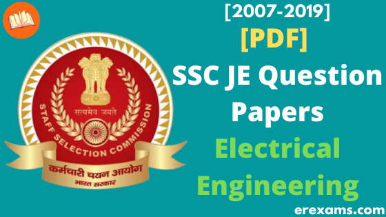 SSC JE Electrical Previous Year Question Papers PDF  - ErExams - Engineering Exams Guidance RSS Feed  IMAGES, GIF, ANIMATED GIF, WALLPAPER, STICKER FOR WHATSAPP & FACEBOOK
