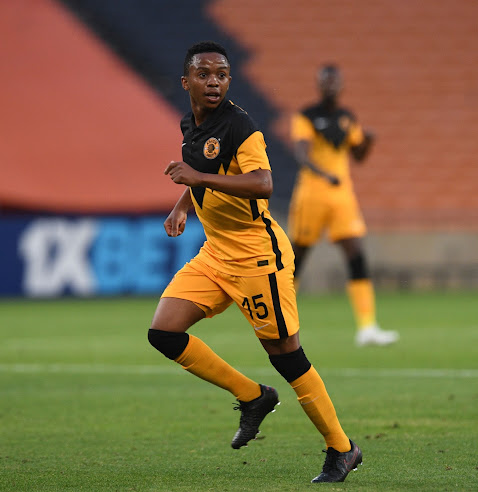 Kaizer Chiefs midfielder Nkosingiphile Ngcobo