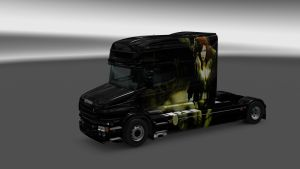 Scania T Poison ivy Skin
