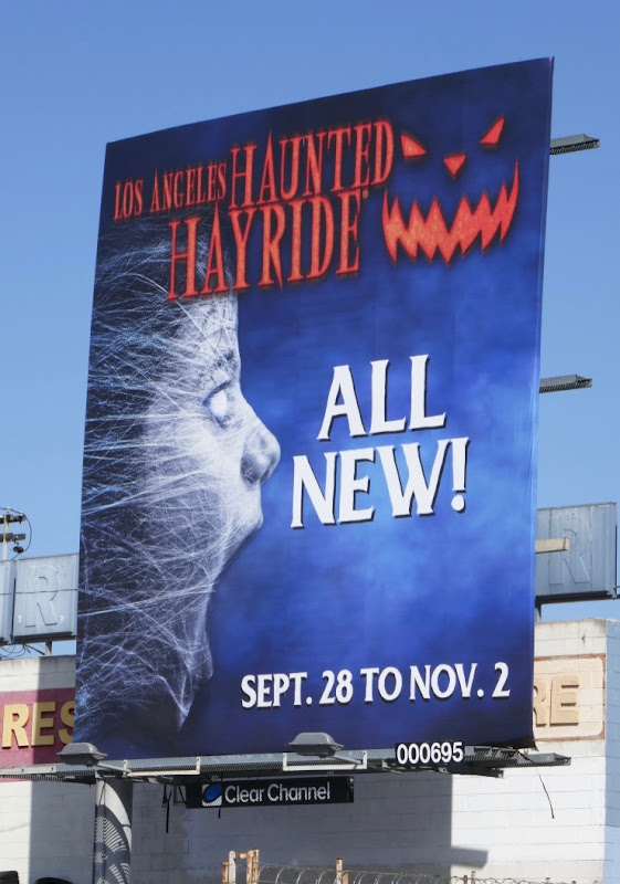 Los Angeles Haunted Hayride 2019 billboard