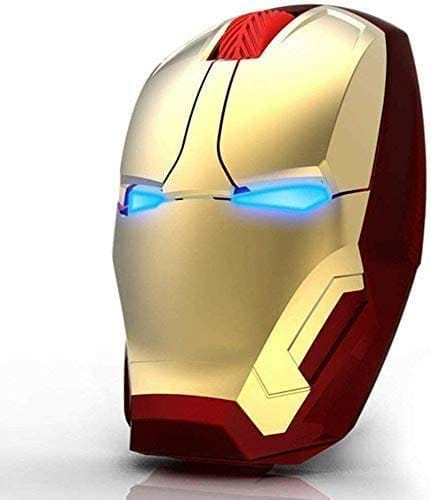Review Nidiox 2.4G Noiseless Wireless Iron Man Mouse