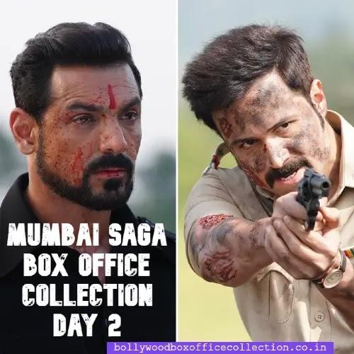 Mumbai Saga Box Office Collection Day 2: जाने दुसरे दिन मुंबई सागा का बॉक्स ऑफिस पर क्या हाल रहा