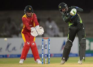 Pakistan vs Zimbabwe 2nd T20I 2015 Highlights