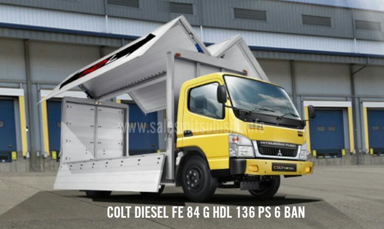 Mitsubishi FUSO - COLT DIESEL FE 84G HDL