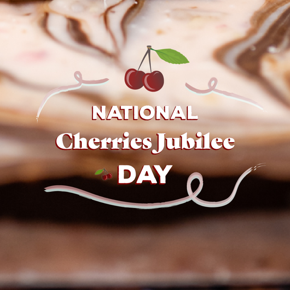 National Cherries Jubilee Day Wishes For Facebook